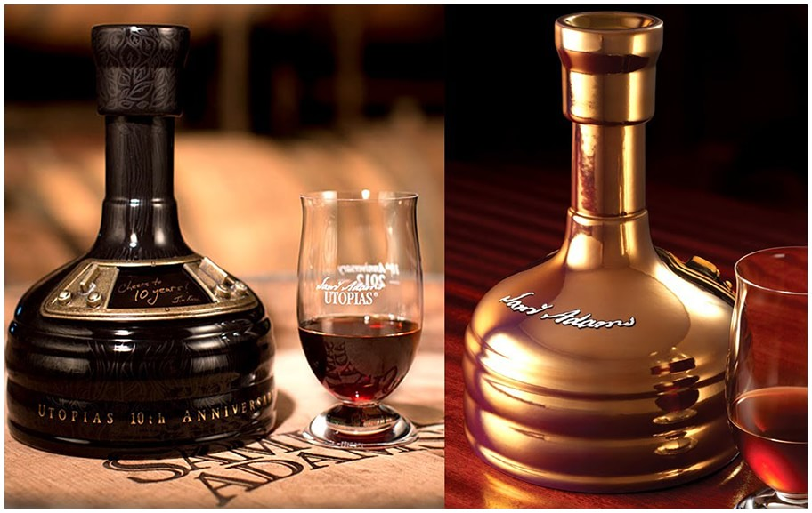 700ml of Sam Adams' Utopias Beer