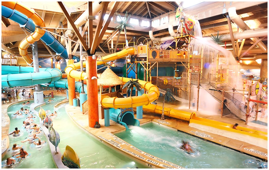 Beartrack Landing Indoor Water Park