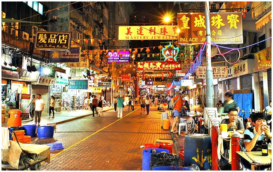 HongKong night market