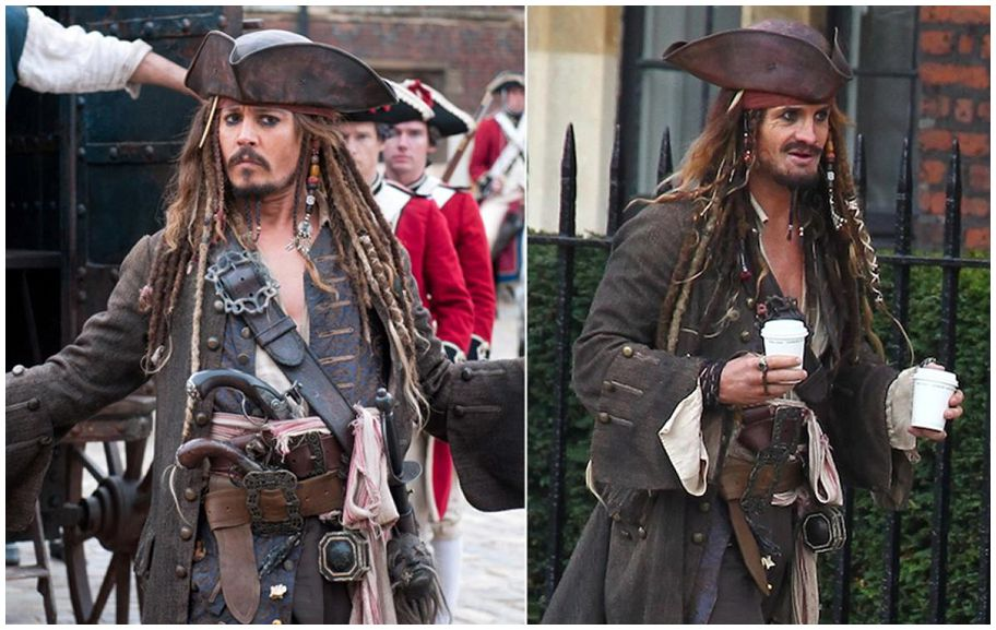 Johnny Depp's stunt double