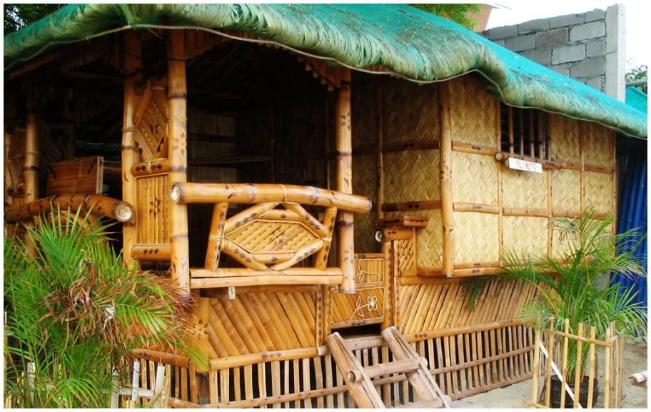 a nipa hut