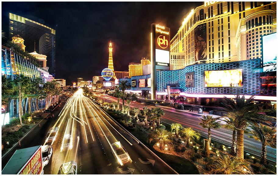 The Las Vegas Strip for a Week, without casino